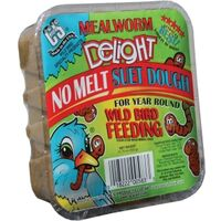 C and S Products Suet Dough Mealworm Delight, 11.75 Ounces