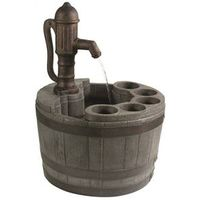 Little Giant 14940294 Whiskey Barrel Fountain