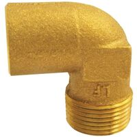 4707-4 1/2 CXM 90 Degree Cast Copper Male Elbow, Low Lead