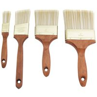 4IN WOOD HNDL BRUSH SET