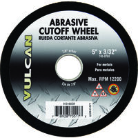 "Abrasive Cut Off Wheel, 5"" x 3/32"""