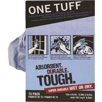 ONE TUFF WIPING RAG 75 CT BOX