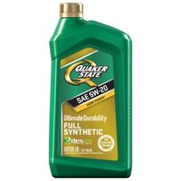 Quaker State Synthetic Motor Oil, 5W20