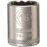 SOCKET 3/8 DRIVE 12PT 16MM