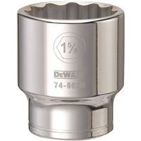 SOCKET 3/4DRIVE 12PT 1-5/8IN