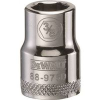 SOCKET 3/8 DRIVE 6PT 3/8IN