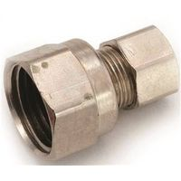 Anderson Metal 754822-0606 Brass Flare Fitting