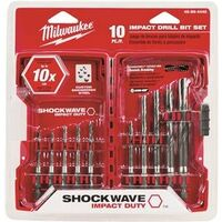 Hex Drill Bit Set, 10 Pc