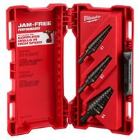 Milwaukee 48-89-9221 Dual-Flute Step Drill Bit Set