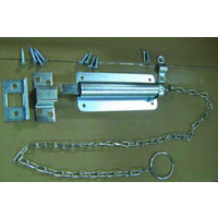 "Steel Chain Bolt, 6"" Zinc"