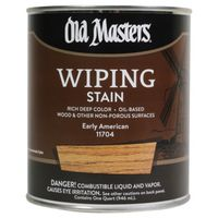 Old Masters 11704 Oil Based Wiping Stain