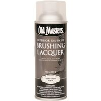 Brush Laquer Spray, 13 oz Semi-Gloss