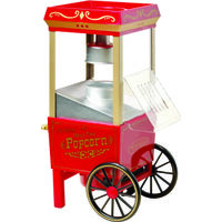 "Vintage Series Old Fashioned Popcorn Machine, 6"" x 6 1/2"" x 16 1/2"""