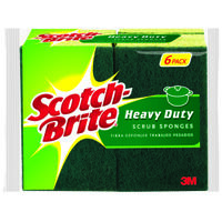 Scotch Brite Heavy Duty Scrub Sponges