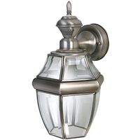 Heathco HZ-4166-SA Dualbrite Porch Light Fixture