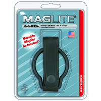 D Cell Maglite Flashlight Holder, Leather