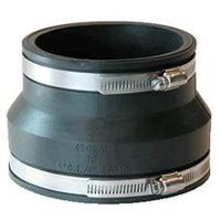 Fernco 1002 Flexible Pipe Reducing Stock Coupling