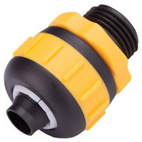 COUPLING HOSE 5/8-3/4IN MALE