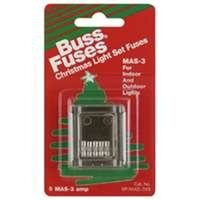 Christmas Light Fuses, 3 Amp
