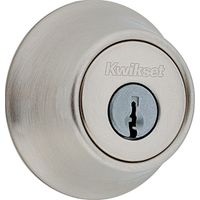1-CYL DEADBOLT K6 SATIN NICKEL