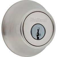 Single Cylinder Deadbolt, Satin Nickel