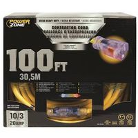 Powerzone ORP711935 SJTOW Tblade Extension Cord