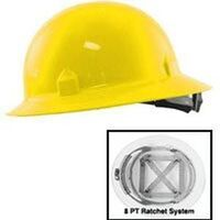 Full Brim Hard Hat, Yellow