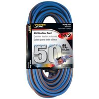 All Weather Extension Cord, 14/3 SJEOW x 50'