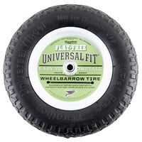 Arnold 00270 Center Hubbed Flat Free Wheelbarrow Tire