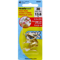 Ready Nail Picture Hanger, 30 Lbs