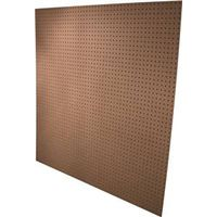 American Wood PEGBRD-31644 Standard Perforated Hardboard