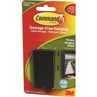 Command 17201BLK Medium Picture Hanging Strip