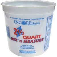 Mix'N Measure Container, 2 1/2 Qt