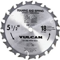 "Carbide Blade Fast Cut, 5.5"" x 18T"