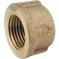 Low Lead Brass Cap, 1 1/4""
