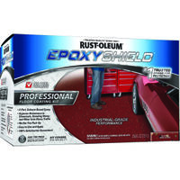 Epoxy Shield Pro Floor Kit, Semi-Gloss Tile Red