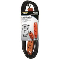 Powerzone OR890708 3-Outlet Extension Cord
