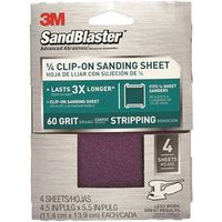 SandBlaster 9660 Clip-On Palm Sanding Sheet