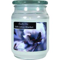 18OZ JAR CANDLE COTTON BLANKET