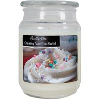 18OZ JAR CANDLE VANILLA SWIRL
