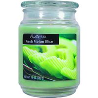 18OZ JAR CANDLE MELON SLICE