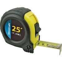 """Tape Measure with Rubber Shell, 1"""" x 25'"""