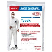 Heavy Duty Tyvek Coveralls, Medium