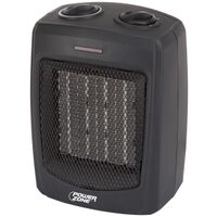 Electric Ceramic Heater, 750/1500W