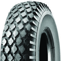 Studded Lawn Mower Tire