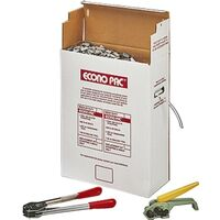 Heavy Duty Poly Strapping Kit with Tools, 1/2&quot; x 7200&#39;