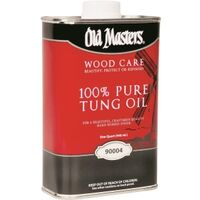 100% Pure Tung Oil, 1 Qt