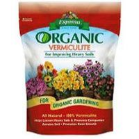 Espoma VM8 Vermiculite, Organic, All Natural, Loosens Soil & Prevents Compaction 8 Qt