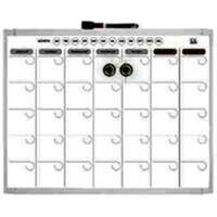 "Dry Erase Monthly Planner Board, 11"" x 14"""