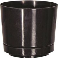 Full Depth Planter, Gloss Black